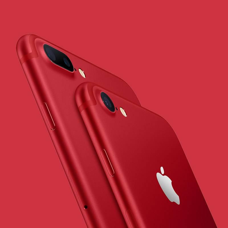 匡威红色特别版 Apple/苹果 iPhone 7 128G 全网通4G智能手机
