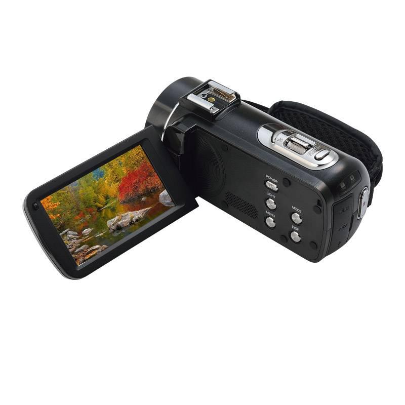 匡威Ordro/欧达 Z20 数码摄像机支持wifi 高清广角专业家用商务婚庆DV 可加热靴索尼影像2400万1080P