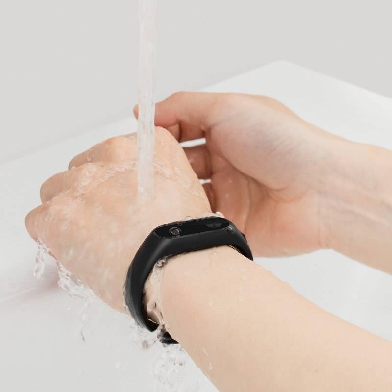 匡威小米手环2蓝牙智能男女情侣运动计步器睡眠心率检测器手表支持IOS 精准心率监测 超长续航 触摸操作