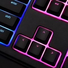 合生元Razer雷蛇 雨林狼蛛幻彩版 Ornata Chroma 机械式薄膜游戏键盘