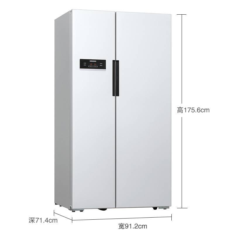 一品玉SIEMENS/西门子KA92NV02TI 对开门双开门双门变频电冰箱家用无霜