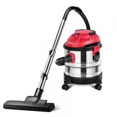 美的吸尘器家用干湿吹手持式小型强力大功率静音桶式地毯T3-L151E