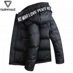 马克华菲羽绒服男装短款轻薄2018冬季潮流韩版男士羽绒服外套帅气